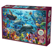 Cobble Hill Puzzles Cobble Hill Coral Sea Puzzle 2000pcs
