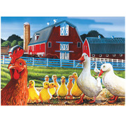 Cobble Hill Puzzles Cobble Hill Dwight's Ducks Tray Puzzle 35pcs