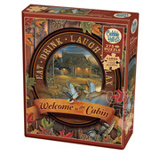 Cobble Hill Puzzles Cobble Hill Welcome to the Cabin Easy Handling Puzzle 275pcs