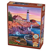 Cobble Hill Puzzles Cobble Hill Lighthouse Cove Easy Handling Puzzle 275pcs