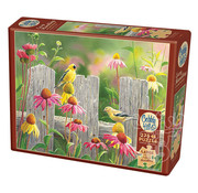 Cobble Hill Puzzles Cobble Hill Pink and Gold Easy Handling Puzzle 275pcs