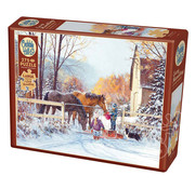 Cobble Hill Puzzles Cobble Hill First Snow Easy Handling Puzzle 275pcs RETIRED