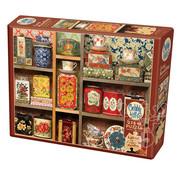 Cobble Hill Puzzles Cobble Hill Tea Caddies Easy Handling Puzzle 275pcs