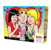 Cobble Hill Puzzles Cobble Hill Archie Love Triangle Puzzle 500pcs