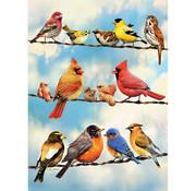 Cobble Hill Puzzles Cobble Hill Blue Sky Birds Tray Puzzle 35pcs