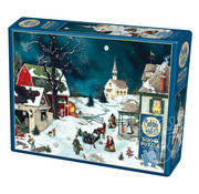 Cobble Hill Puzzles Cobble Hill Moonlit Winter Puzzle 500pcs