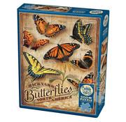 Cobble Hill Puzzles Cobble Hill Backyard Butterflies Puzzle 500pcs