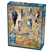 Cobble Hill Puzzles Cobble Hill Notable Woodpeckers Puzzle 500pcs