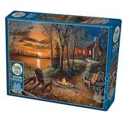 Cobble Hill Puzzles Cobble Hill Fireside Puzzle 500pcs