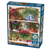 Cobble Hill Puzzles Cobble Hill Flower Cupboard Puzzle 500pcs