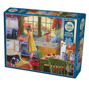 Cobble Hill Puzzles Cobble Hill Apple Pie Kitchen Puzzle 500pcs