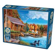 Cobble Hill Puzzles Cobble Hill Loon Lake Puzzle 500pcs