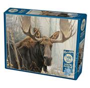 Cobble Hill Puzzles Cobble Hill Bull Moose Puzzle 500pcs