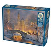Cobble Hill Puzzles Cobble Hill Winter in the Park Puzzle 500pcs