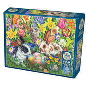 Cobble Hill Puzzles Cobble Hill Easter Bunnies Puzzle 500pcs