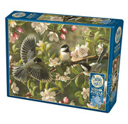 Cobble Hill Puzzles Cobble Hill Chickadeedeedees Puzzle 500pcs