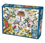 Cobble Hill Puzzles Cobble Hill Winterbird Magic Puzzle 500pcs
