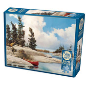 Cobble Hill Puzzles Cobble Hill A Day at the Lake Puzzle 500pcs