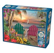Cobble Hill Puzzles Cobble Hill Island Paradise Puzzle 500pcs