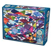 Cobble Hill Puzzles Cobble Hill Portrait of a Quilt Puzzle 500pcs