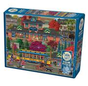 Cobble Hill Puzzles Cobble Hill Trolley Station Puzzle 500pcs