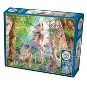 Cobble Hill Puzzles Cobble Hill Unicorn in the Woods Puzzle 500pcs