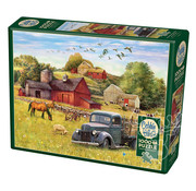 Cobble Hill Puzzles Cobble Hill Summer Afternoon on the Farm Puzzle 1000pcs