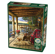 Cobble Hill Puzzles Cobble Hill Cabin Porch Puzzle 1000pcs