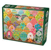 Cobble Hill Puzzles Cobble Hill Easter Eggs Puzzle 1000pcs