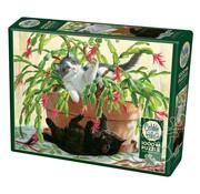 Cobble Hill Puzzles Cobble Hill Cactus Kitties Puzzle 1000pcs