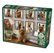Cobble Hill Puzzles Cobble Hill Yorkies Are My Type Puzzle 1000pcs