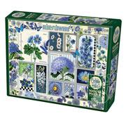 Cobble Hill Puzzles Cobble Hill Blue Flowers Puzzle 1000pcs