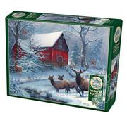 Cobble Hill Puzzles Cobble Hill Winter Magic Puzzle 1000pcs