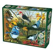 Cobble Hill Puzzles Cobble Hill Blue Jay and Friends Puzzle 1000pcs