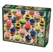 Cobble Hill Puzzles Cobble Hill Cupcakes and Saucers Puzzle 1000pcs