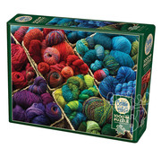 Cobble Hill Puzzles Cobble Hill Plenty of Yarn Puzzle 1000pcs