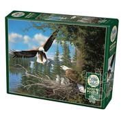 Cobble Hill Puzzles Cobble Hill Nesting Eagles Puzzle 1000pcs