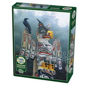 Cobble Hill Puzzles Cobble Hill Totem Pole in the Mist Puzzle 1000pcs