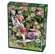 Cobble Hill Puzzles Cobble Hill Summer Adirondack Birds Puzzle 1000pcs