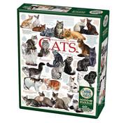 Cobble Hill Puzzles Cobble Hill Cat Quotes Puzzle 1000pcs
