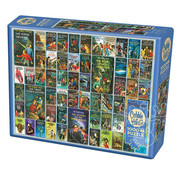 Cobble Hill Puzzles Cobble Hill Hardy Boys Books Puzzle 1000pcs