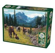 Cobble Hill Puzzles Cobble Hill Horse Meadow Puzzle 1000pcs