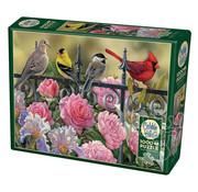 Cobble Hill Puzzles Cobble Hill Birds on a Fence Puzzle 1000pcs