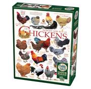 Cobble Hill Puzzles Cobble Hill Chicken Quotes Puzzle 1000pcs