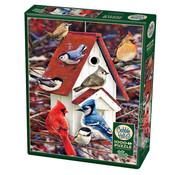 Cobble Hill Puzzles Cobble Hill Winter Birdhouse Puzzle 1000pcs