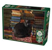 Cobble Hill Puzzles Cobble Hill Library Cat Puzzle 1000pcs
