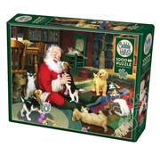 Cobble Hill Puzzles Cobble Hill Santa's Playtime Puzzle 1000pcs