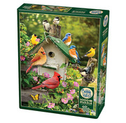 Cobble Hill Puzzles Cobble Hill Summer Birdhouse Puzzle 1000pcs