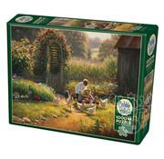 Cobble Hill Puzzles Cobble Hill Feeding Time Puzzle 1000pcs