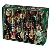Cobble Hill Puzzles Cobble Hill Christmas Ornaments Puzzle 1000pcs